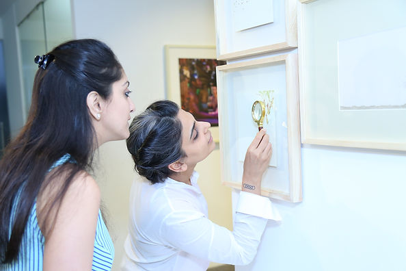 Khusbu Patel's artwork at 'Caressing History: Draft for a Body-based Historiography' curated by Adwait Singh.