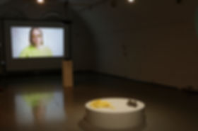 Installation view of Jacolby Satterwhite's 'Blessed Avenue'.