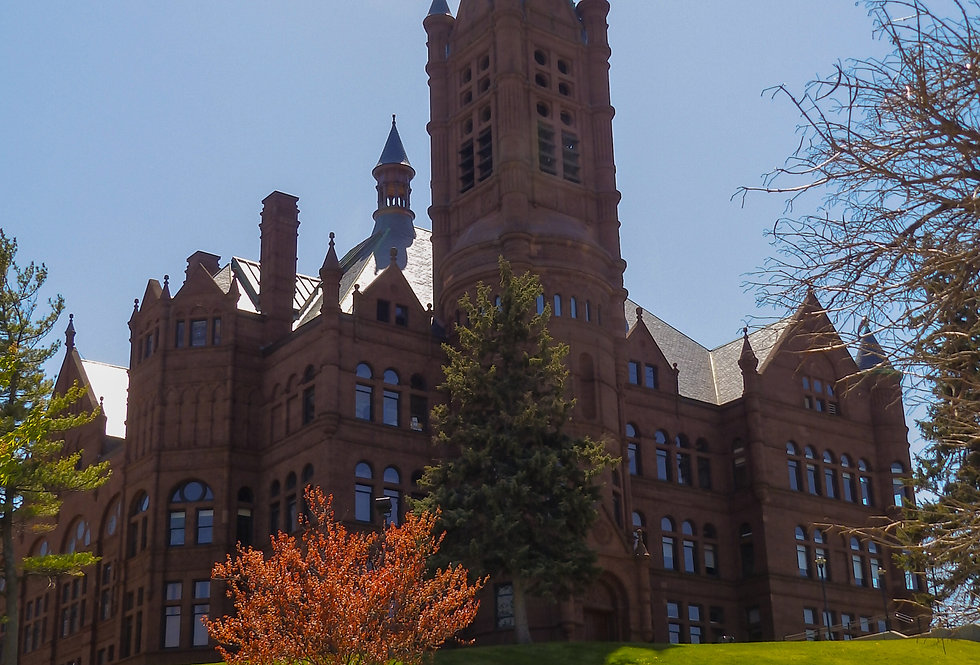 Crouse College at Syracuse University Photographic Print