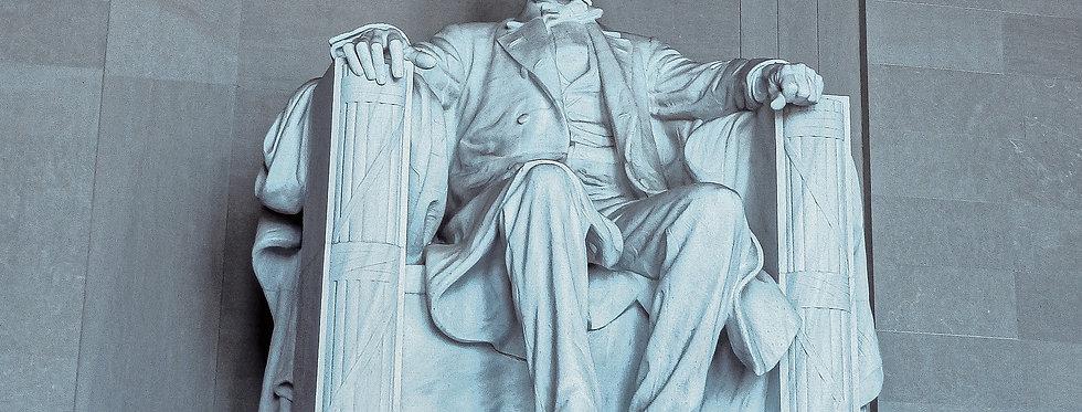 Lincoln at Memorial