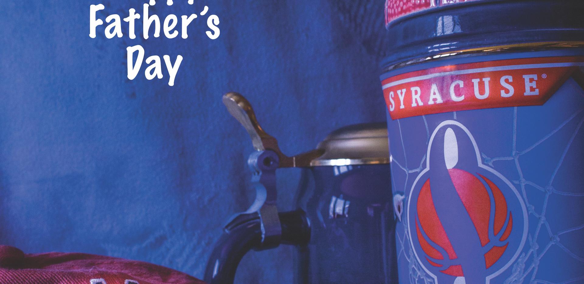 Syracuse U themed Father's Day Card