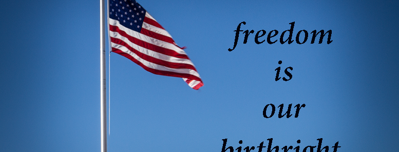 """Freedom Flag"" Fine Art color Photograph"