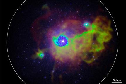 Rätsel um Sternengeburtenrate in Galaxien gelöst