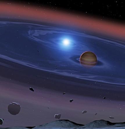 Hinweise auf Entstehung von Gesteinsplaneten in Doppelsternsystem