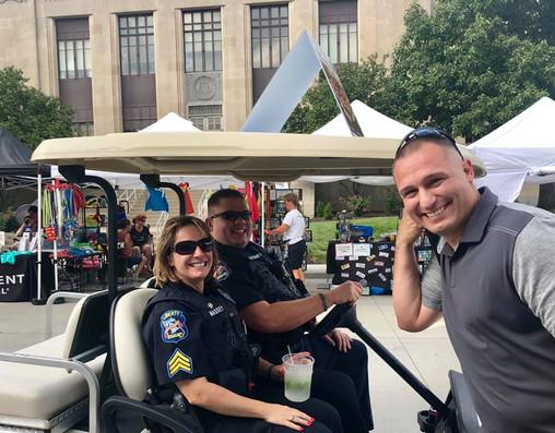 Will Akin for Sheriff Liberty Fall Festi