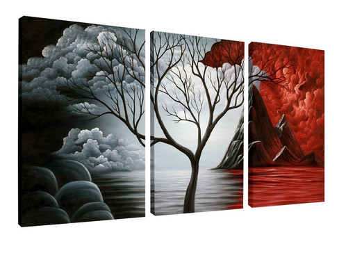 eccentric tree wall art oil painting giclee landscape canvas prints