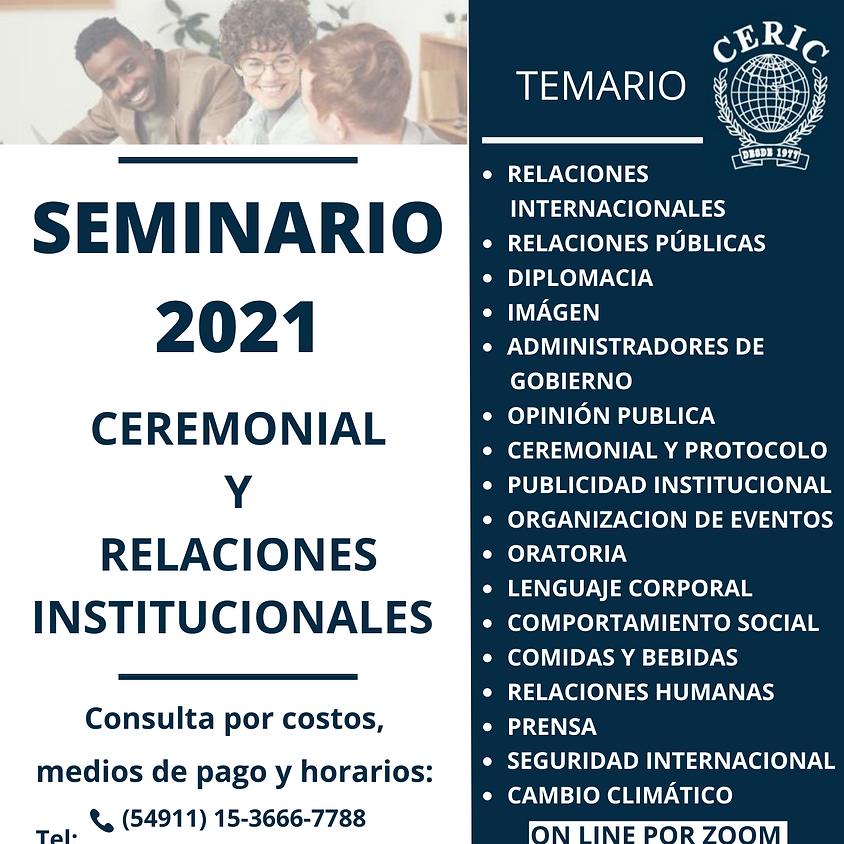 Seminario 2021