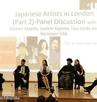 JAPANESE ARTISTS in LONDON Panel Discuss