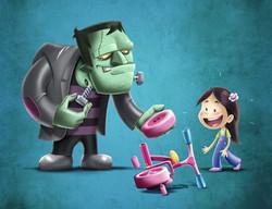 p80 Frankenstein