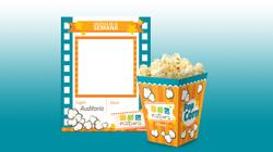 Cinema billboard - Crispetas box