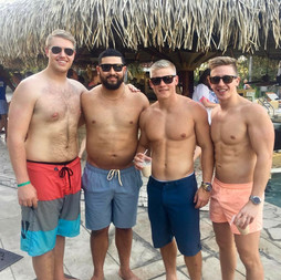 Managers hang out in Costa Rica