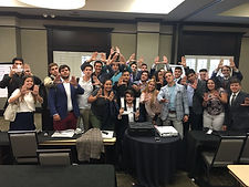 Metro Miami Spartans group photo at conference