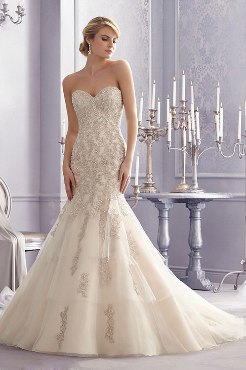 Morilee Wedding Gown Style 2691 Sz.8