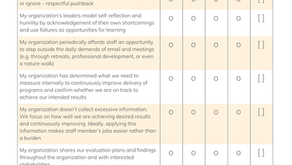 Evaluation Capacity Self-Assessment