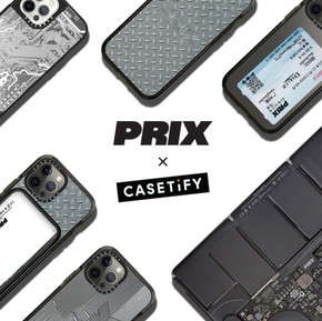 Prix x CASETiFY給手機的新服裝系列/Your phone needs new clothes too