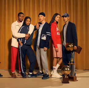 當西裝不再只是墨守成規/Hugo Boss X Russell Athletic capsule