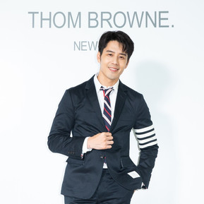 胡宇威也抵擋不住的THOM BROWNE魅力/Finally ! THOM BROWNE  in Taipei