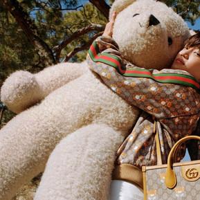 Kai x Gucci聯名系列,一同喚起你與兒時玩伴的美好回憶 /Kai x Gucci Teddy Bear Capsule Collection