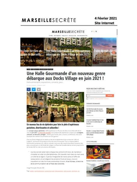 Marseille Secrète