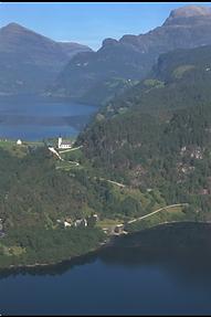 Oversiktsbilde over Eidegrend og Eidesstøa