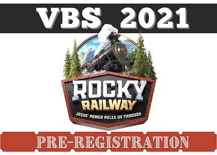 VBS pre registration