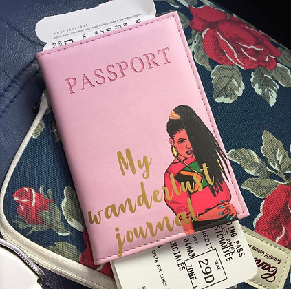 Jamaican Gyal Passport Cover