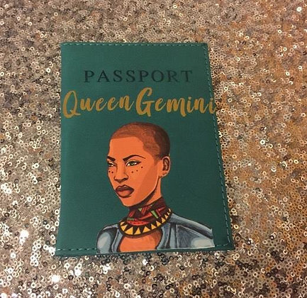 """""""Short Hair Don't Care"""" Passport Cover"""