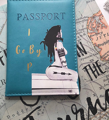 """Caribbean Girl"" Passport Cover"
