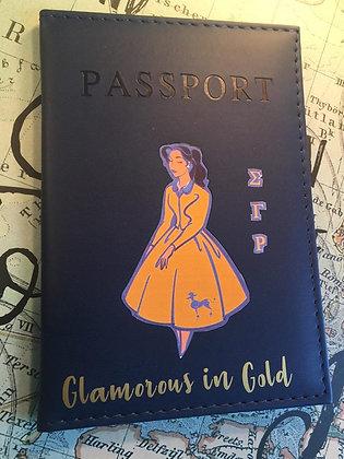 Sorority Passport Cover