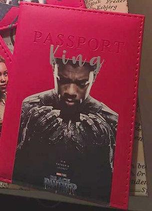 King Of Wakanda Passport Cover
