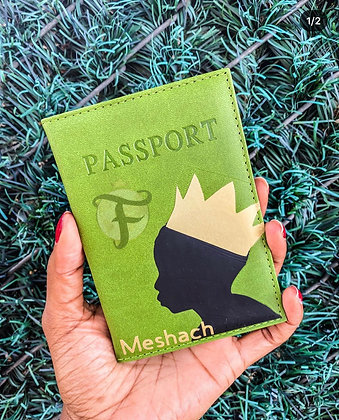 """Young King"" Passport Cover"