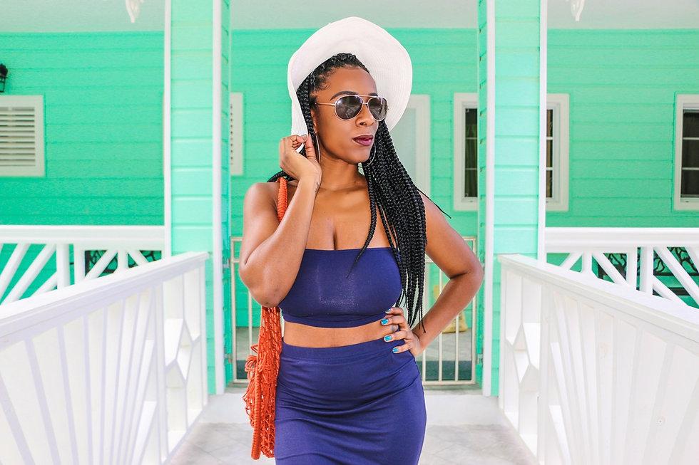 Black girl vacation