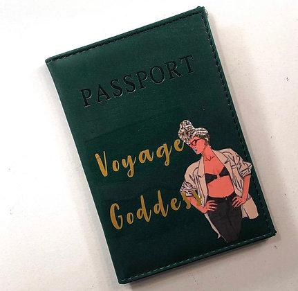 Goddess Passport Cover