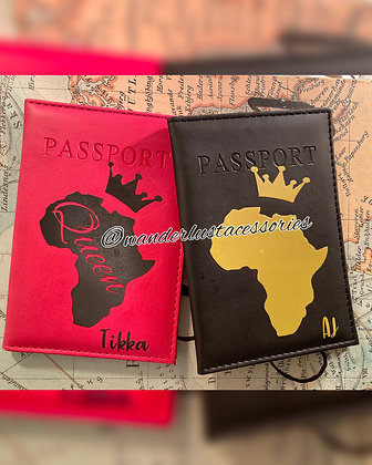 Africa - His&Hers Passport Covers