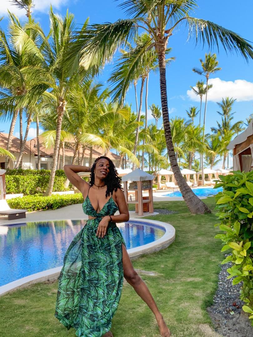 Black girl in dominican republic