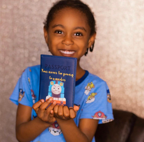 Custom Passport Cover
