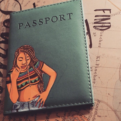 """Where Craig At"" Passport Cover"