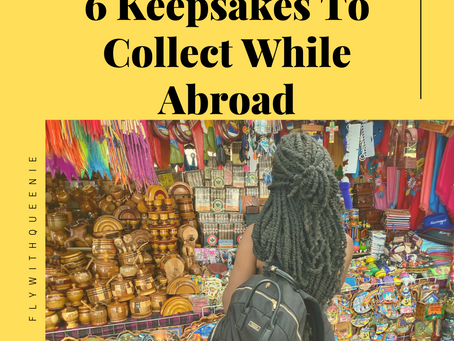 6 Keepsakes To Collect While Abroad
