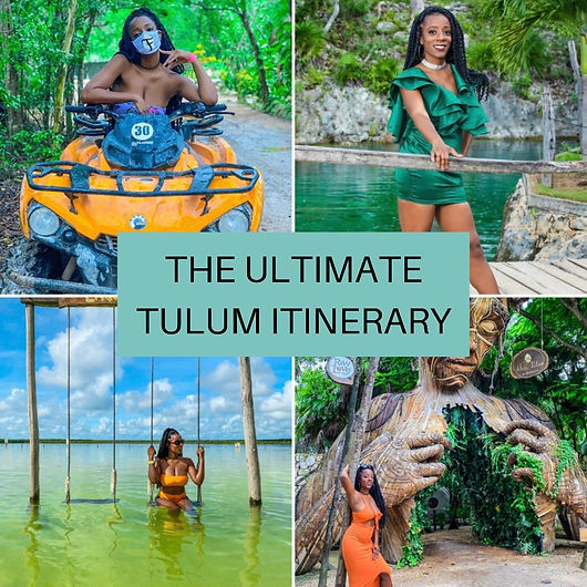 Tulum Itinerary