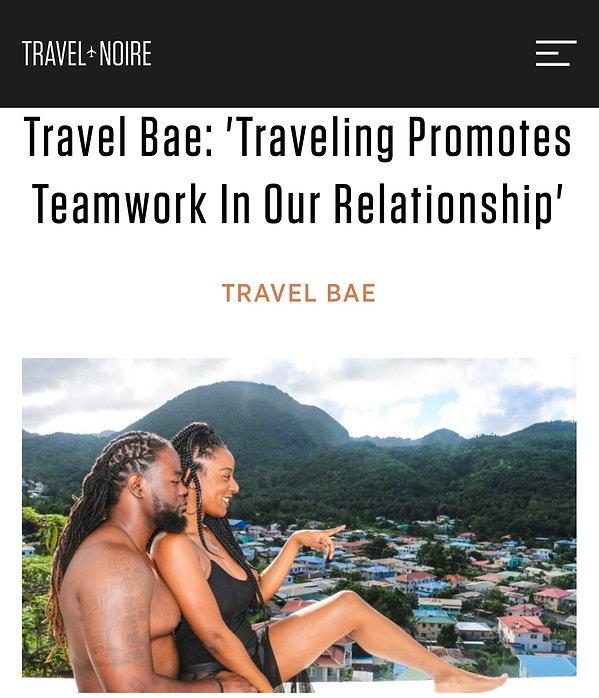 Travel Noire Article