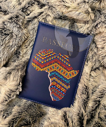 Mama Africa - Passpprt Cover