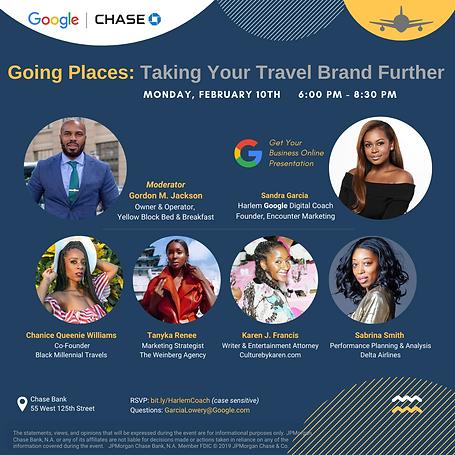 Google / Chase Panel