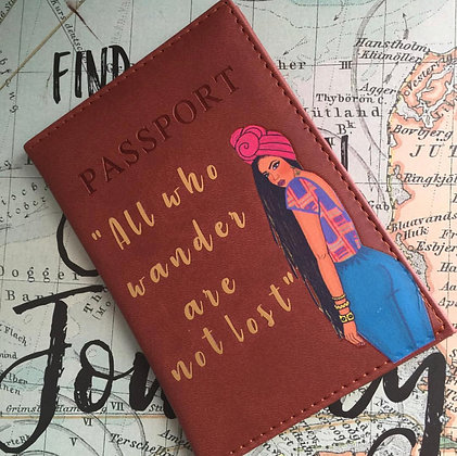 African Queen Passport Cover