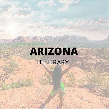 Arizona Itinerary