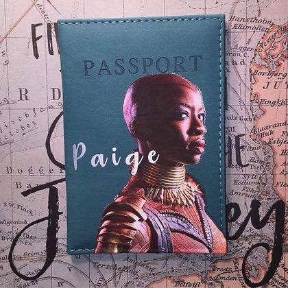 """Okoye"" Black Panther Passport Cover"