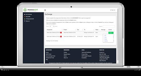 assessmint_exchange_provider_portal_engl