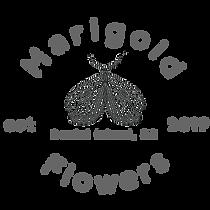 Marigold Flowers Moth Logo Black Web.png