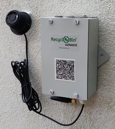 RecycloBin-UltraEye-network module and sensor probe.png