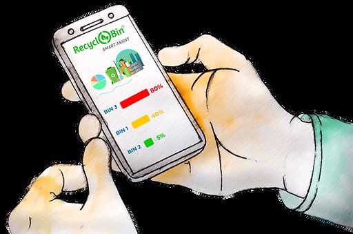 Fill levels-RecycloBin UltraEye-RecycloBin Smart Assist.png