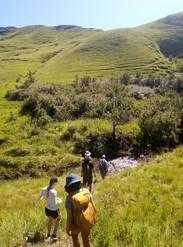 Hiking the Drakensburg